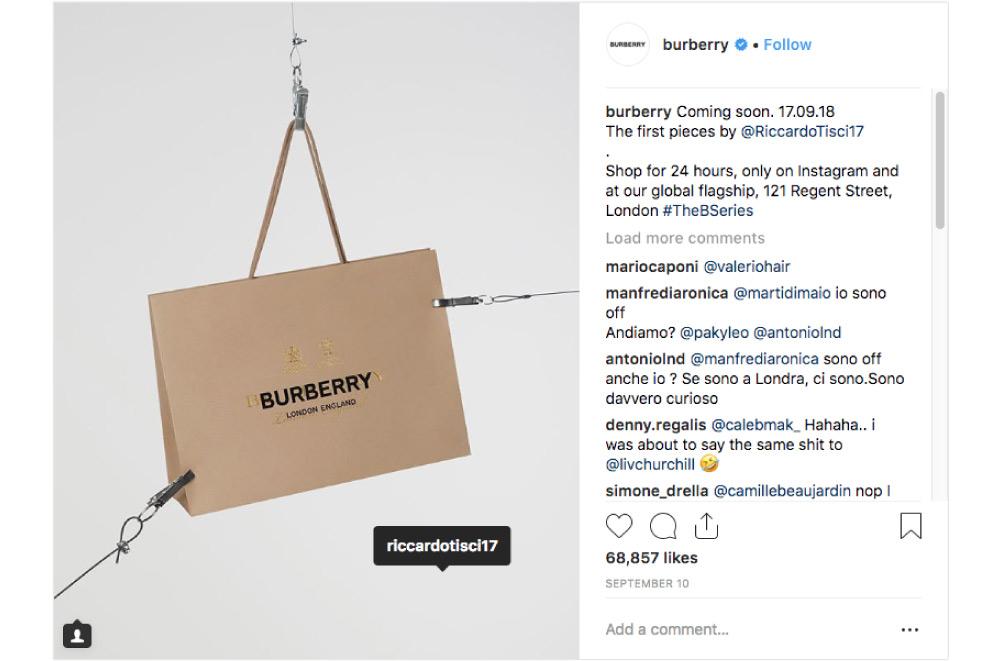 burberry dropculture question mark