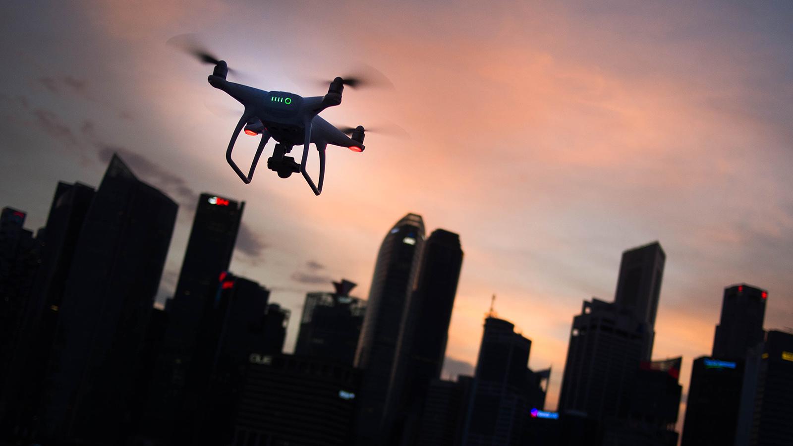 on demand drone smart